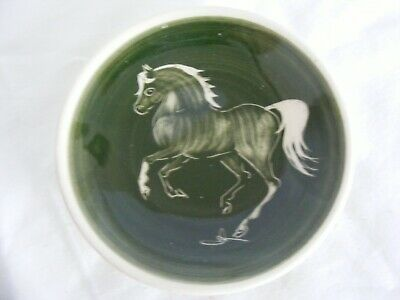 Vintage Welsh Pottery Horse Pin Dish PPP • 8£