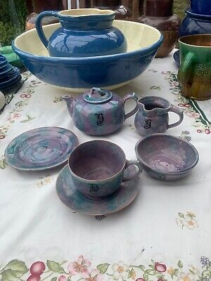 Baron Barnstaple Teaset For One Circa 1900 • 30£