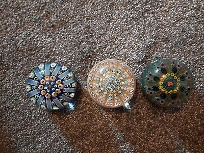 Vintage Millefiori Glass Paperweight JOBLOT • 19.99£