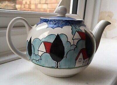 Clarice Cliff May Avenue Rene Dale 2002 Teapot • 325£