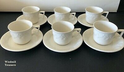 6 Vintage Bhs Lincoln Cups & Saucers - Great Condition • 19.99£
