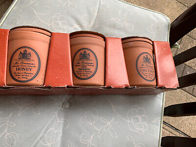 Mr Brennan's Royal Barum Ware  Preserves Jar Set • 25£