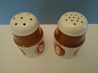 Vintage 60's Pair Of Flour And Sugar Shakers/sifters By Shorter And Sons Ltd. • 14.90£