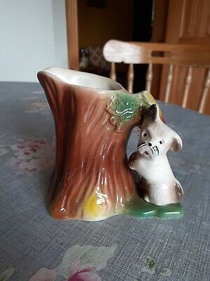 Withernsea Eastgate Pottery West Highland Terrier At A Tree Jug • 5.99£