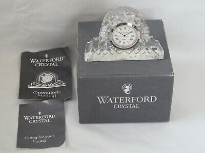 Waterford Crystal Small Mantel Clock • 39.99£