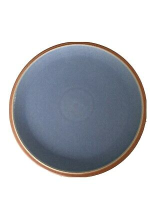 1 BLUE Denby JUICE Dinner Plate Very Good Used Condition • 2.90£
