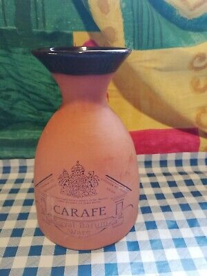 Royal Barum Ware Carafe Vase Pottery • 12.20£