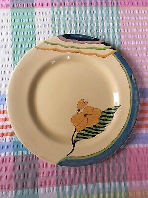 Clarice Cliff Lodore Dinner Plate • 125£