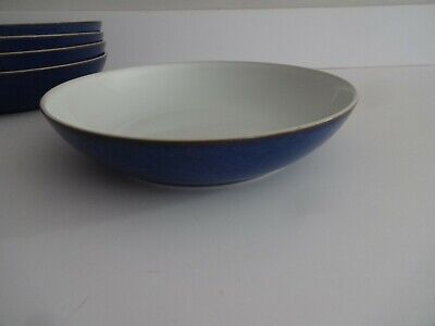 Denby Imperial Blue-22 Cm Pasta Bowl-several Available • 11.99£