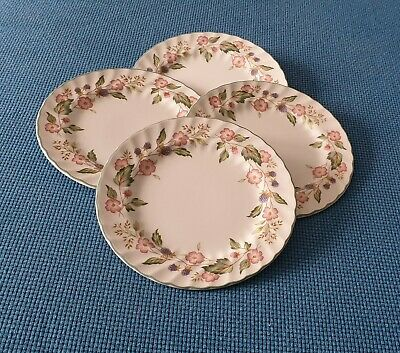 Bhs *victorian Rose* Four 7  Side Plates #very Good Used Condition • 12.95£