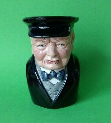 Bairstow Manor Collectables - Winston Churchill Character Jug - Prototype • 14.99£