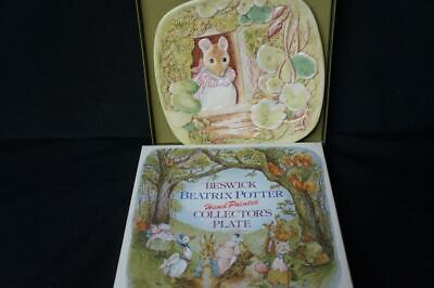 1981 Beswick England Plate Scenes From Beatrix Potter Third Edition • 13.89£