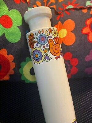 Vintage Retro Lord Nelson Pottery Ceramics Gaytime Design Rolling Pin • 20£