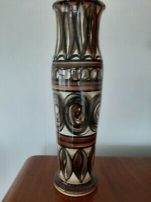 Jersey Pottery Large Decorative Vase- Absolutely Beautiful Piece. • 10£