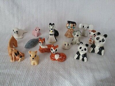 Vintage Philip Laureston Babbacombe Pottery Animal Figures Ornaments • 5£