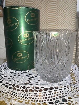 Large Vintage Tyrone Crystal Boxed  Ice Bucket 6.5inches • 25.99£