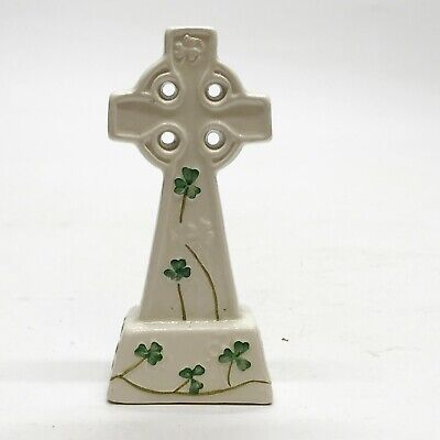 Ireland Watervale Parian China  Vintage Gaelic Cross Crucifix • 18.99£