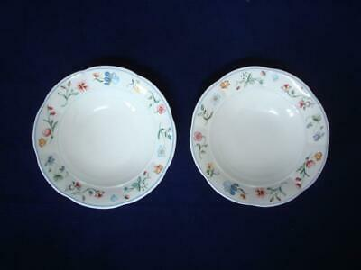 Villeroy & Boch Mariposa 6  Cereal Bowls X 2  Excellent • 24£