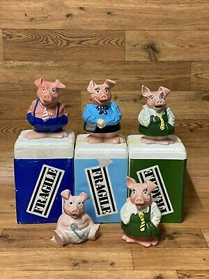 NatWest Piggy Bank Wade Collection With Original Boxes And Joining Pack • 64.99£