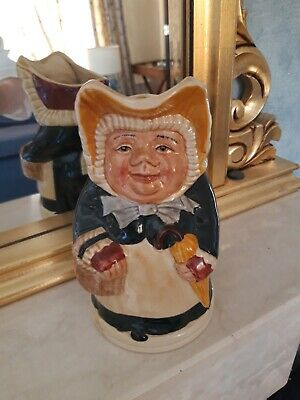 Lady Toby Jug - Welsh Bonnet Character -  Betsy .  Immaculate Condition. • 15£