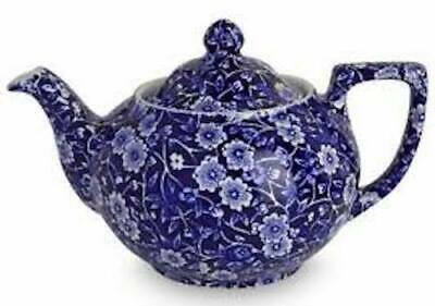 Teapot Small (3-4 Cup) - Calico By Burleigh - Burgess & Leigh - 815010122 • 57.50£