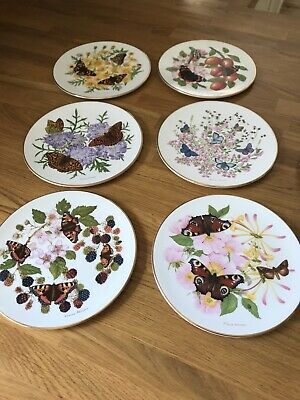 Royal Grafton Butterfly Plates  • 8£