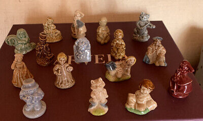 Collection Of 16 Wade Whimsies - Nursery Rhyme Characters • 4.40£