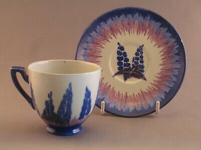 Art Deco Carlton Ware Handcraft Cup And Saucer. • 39.99£