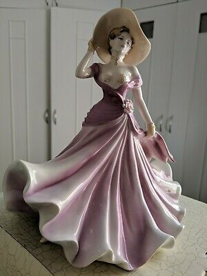 Coalport LADIES OF FASHION - HELENA Figure By Jack Glynn Excellent Condition  • 25£