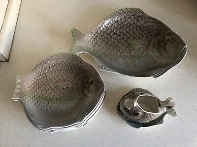 Shorter And Son Fish Plates • 25£