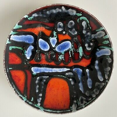 Poole Pottery Delphis Dish Shape 3 Abstract Mid Century Design • 20£