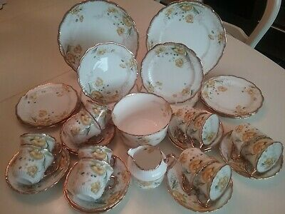 Redfern & Drakeford (r&d) Antique China 12 Cup Tea Set Very Pretty  • 100£