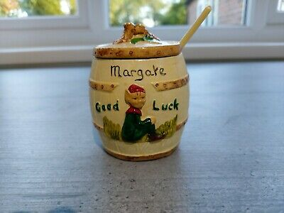 Super Early Manor Ware Pixie Preserve Pot........ Margate  • 2.99£
