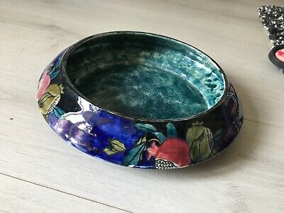 Rubens Ware Bowl Hand Painted In Pomegranate Design F X Abrahams #wow# • 9.99£