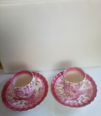 Two Antique,;Copeland Spode  Cups & Saucers Very Good Condition  • 12.15£