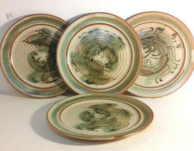 Skegness Pottery 70's Vintage 4×7  Side Plates. Beautiful Solid. • 16£