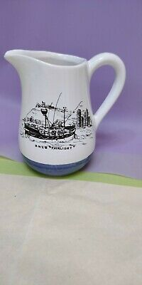 Cinque Ports Pottery Milk Jug The Monastery Rye RNLI Hastings RNLB Fairlight  • 14.99£
