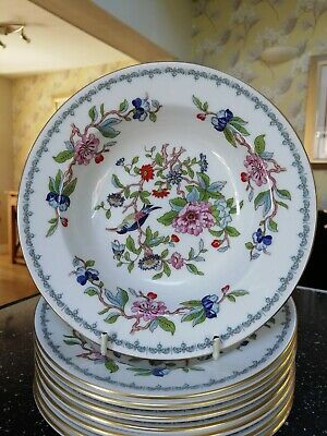 Aynsley PEMBROKE Rimmed Soup Bowl(s) - Firsts And Unused • 10.95£