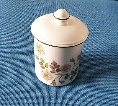 M & S *autumn Leaves* 8.65  Tall Storage Jar With Lid #excellent Condition# • 14.95£