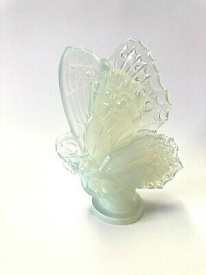 Vintage Sabino France Opalescent Large Glass Butterfly • 154.29£