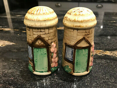Sylvac Vintage Croft Salt And Pepper Pots With Original Stoppers - 4832 • 10£