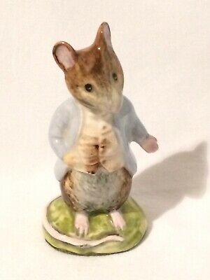 Vtg Beatrix Potter Figurine JOHNNY TOWN-MOUSE Warne Beswick England BP3a 🐭  • 27.66£