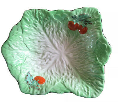 Antique Beswick Ware No 6 217 Lettuce And Tomato Dish 9 By 7 Inches Approx Clean • 2.99£