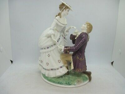 Royal Worcester Figure The Proposal Limited Edition • 139.99£