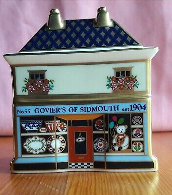 Royal Crown Derby Miniature   'Govier's China Shop ' Limited Edition . • 50£