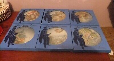 Full Set Of 6 Bing & Grondahl 'Hans Christian Anderson' Plates, Boxed • 30£