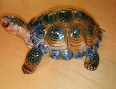 Vintage Wade Porcelain Tortoise Trinket Box With Removable Shell Vgc • 3.99£