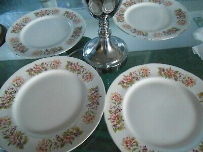 Colclough Wayside 4 X Dinner Plates  • 8£