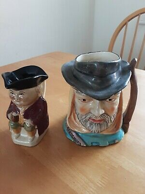 Robin Hood Toby Jug  And No 3 Toby From Wood & Sons • 0.99£