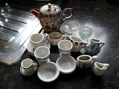 Large Collection Of Vintage China Minitures Various Types Good Condition. • 4.99£